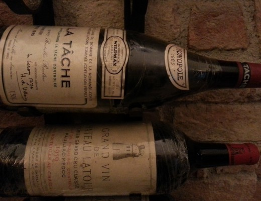 La Tache and Latour Wines