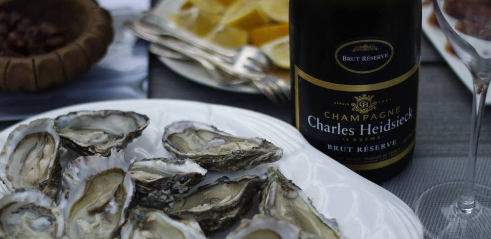 Oysters and Charles Heidsieck