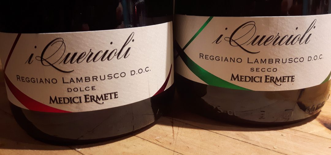 Lambrusco sparkling red wine