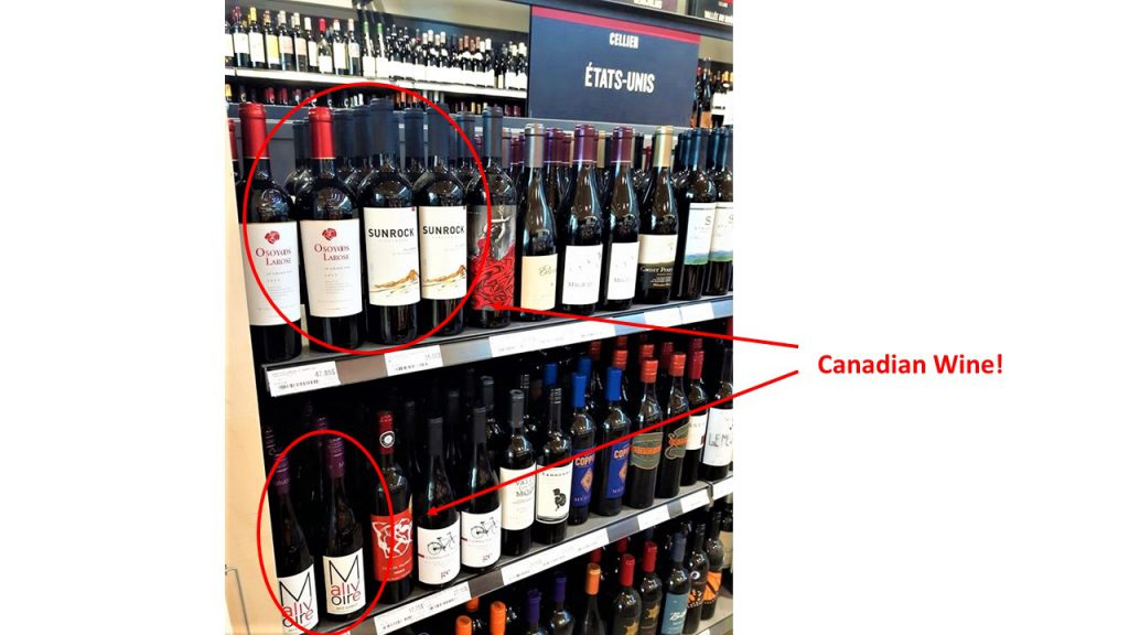 free trade canadian wines