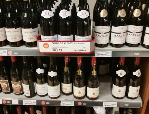 SAQ Selection Rhône