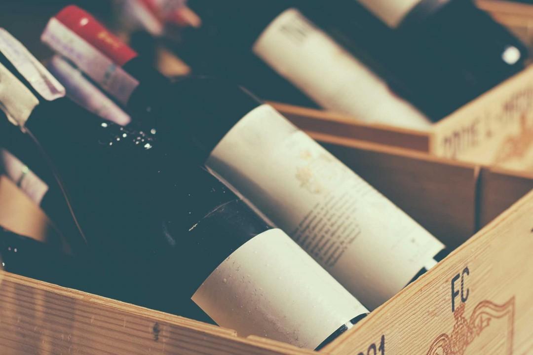 Box of Red Wine