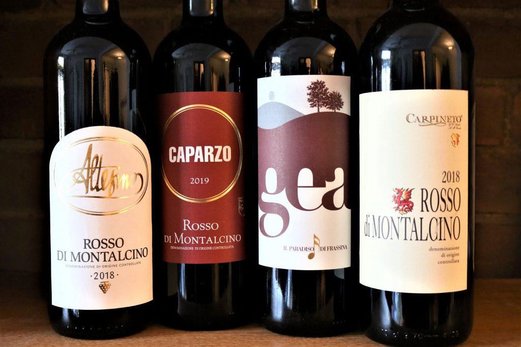 Rosso di Montalcino wines
